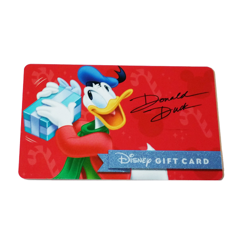 disney collectible gift card 2015 holiday promo donald duck gift. Black Bedroom Furniture Sets. Home Design Ideas