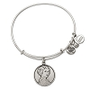 Disney Alex and Ani Charm Bracelet - Princess Leia Bangle - Silver