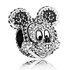 Disney PANDORA Charm - Mickey Pave' - Limited Edition
