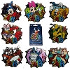 Disney Mystery Pins - 2016 Mickey and Friends - Complete Set of 8