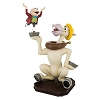 Disney Medium Figure Statue - Mr. Toad and Cyril