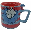 Universal Coffee Cup Mug - Dr. Seuss - Thing 1 and Thing 2 Stripes