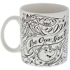 Disney Coffee Cup Mug - Chalkboard - Be Our Guest - White