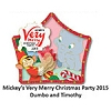 Disney Very Merry Christmas Party Pin - 2015 Dumbo and Timothy