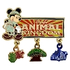 Disney Mickey Pin - Animal Kingdom Logo - Dangle Icons