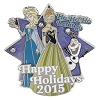Disney Happy Holidays Pin - Happy Holidays 2015 Ho Ho Ho Let it Go