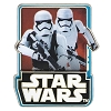 Disney Star Wars Pin - Force Awakens Countdown #7 Storm Troopers LE