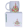 Disney Coffee Cup Mug - Starbucks Disney Parks Holiday Castle Mug