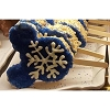 Disney Minnie's Bake Shop - Rice Crispy Mickey Treat - Blue Snowflake