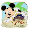Disney Cruise Line Pin - Mickey Mouse with Chip and Dale