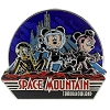 Disney Mickey Pin - Space Mountain - Mickey Minnie Pluto