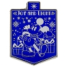 Disney Hanukkah Pin - Mickey Mouse - Joy and Light