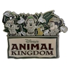 Disney Mickey Pin - Animal Kingdom Logo - Mickey and Friends