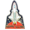 Disney Epcot Pin - Mission Space - X-2 Rocket