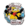 Disney Cruise Line Pin - Mickey Mouse - I'm Celebrating