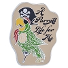 Disney Pirates of the Caribbean Pin - A Parrots Life For Me