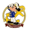 Disney Cruise Line Pin - Captain Mickey Mouse with Anchor