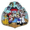 Disney Cruise Line Pin - Mickey and Friends Cruising