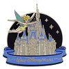 Disney Cinderella Castle Pin - Tinker Bell