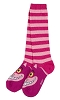 Disney Ladies Knee Socks - Cheshire Cat