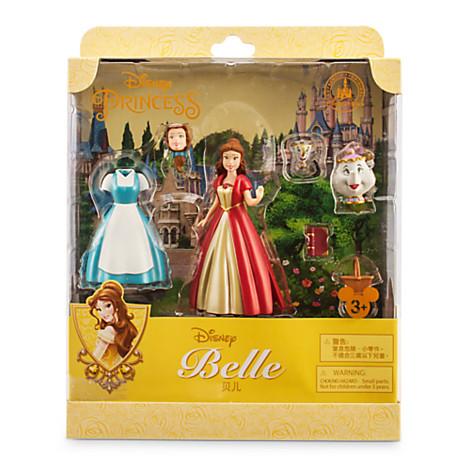 Your Wdw Store Disney Figurine Set Belle Fashion Play Set