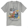 Disney ADULT Shirt - 2016 Logo - Music Magic Memories - Grey
