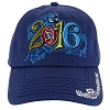 Disney Hat - 2016 Logo - Music Magic Memories - Blue