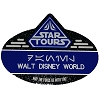 Disney Name Tag ID - Star Wars - Star Tours Galactic Empire Passholder