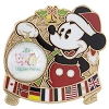 Disney Holiday 2015 Pin -  Epcot - Mickey Mouse