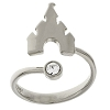 Disney Ring - Castle Adjustable - Silver Tone
