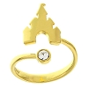 Disney Ring - Castle Adjustable - Gold Tone