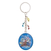 Disney Keychain Keyring - 2016 Logo Sorcerer Mickey Mouse - Disc