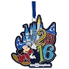 Disney Disc Ornament - 2016 Mickey Mouse Metal Ornament - Disney World