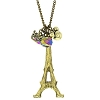 Disney Necklace - Mickey & Eiffel Tower