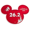 Disney Mini Auto Magnet - runDisney Mickey Ears 2016 - 26.2