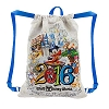 Disney Backpack Bag - Dated 2016 Walt Disney World Cinch Bag