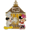 Disney Gingerbread House Pin - 2015 Boardwalk Resort Mickey Minnie
