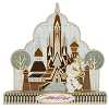 Disney Gingerbread House Pin - 2015 Contemporary Resort Olaf
