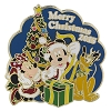 Disney Christmas Day Pin - Merry Christmas 2015 - Mickey Minnie Pluto