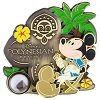Disney Piece of WDW History Pin - #10 Polynesian Resort Mickey Mouse
