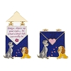 Disney Love Letters Pin - #7 Lady and the Tramp
