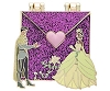 Disney Love Letters Pin - #11 Tiana and Naveen