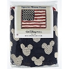 Disney Throw Blanket - EPCOT Mickey Icons U.S.A. Flag