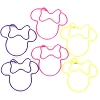 Disney Paper Clips - Minnie Mouse Icon  - 6 Pack
