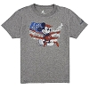 Disney ADULT Shirt - Mickey with Map of United States Tee