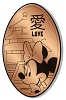 Disney Pressed Penny - Minnie Love China Pavilion