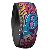 Disney MagicBand Bracelet - 2016 Music Magic Memories Logo - Pink
