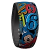 Disney MagicBand Bracelet - 2016 Music Magic Memories Logo - Blue
