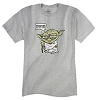 Disney ADULT Shirt - Yoda Patience You Must Have