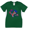 Disney ADULT Shirt - EPCOT Mickey Flags Soccer Jersey - Green
